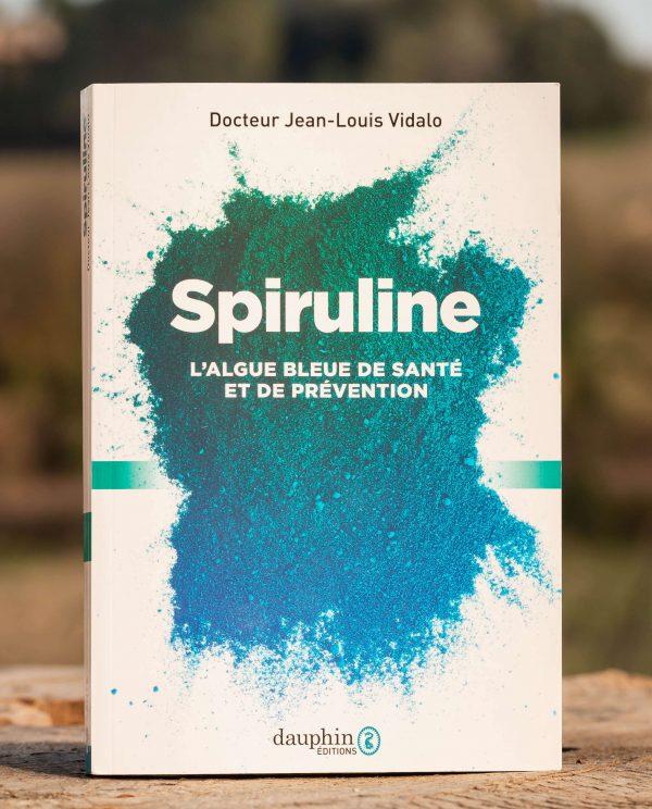 Livre de Vidalo- Spiruline, l'algue bleue de santé (recto)
